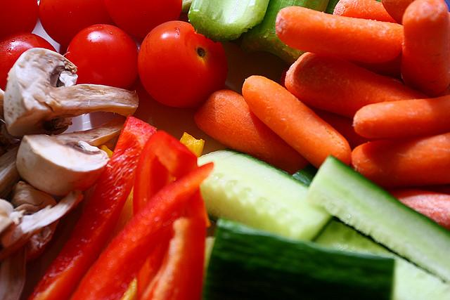 Légumes, riches en sels minéraux