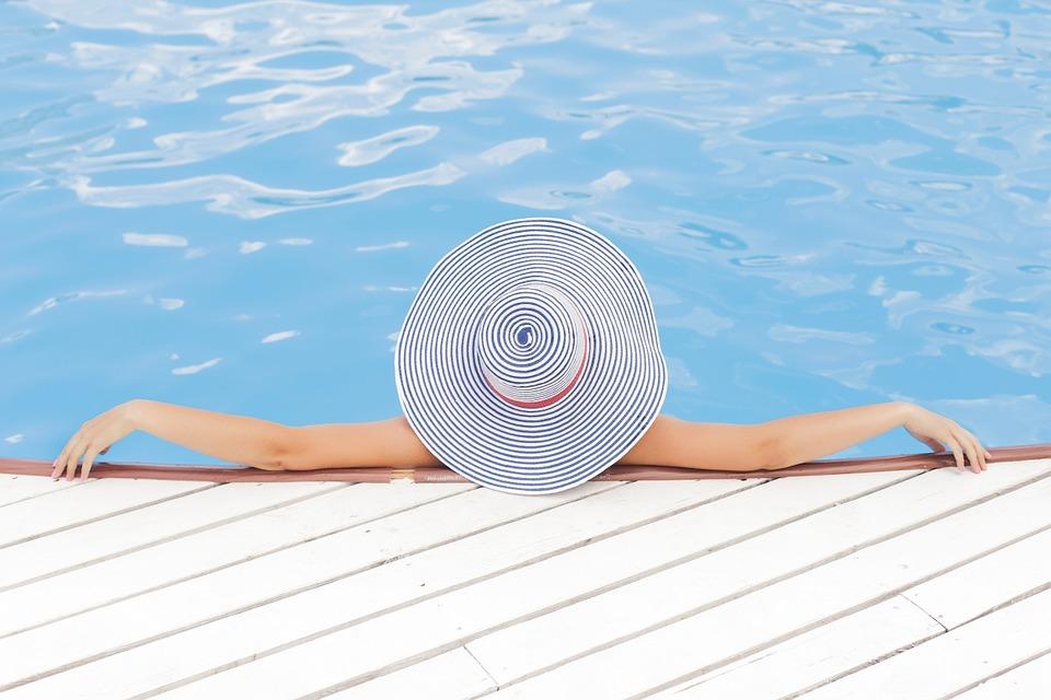 Profiter du spa en été.